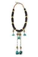 SALE-Vanessa Mooney Rebellion Necklace - Black