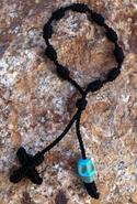 Calavera Decenario Bracelet in Black - Black