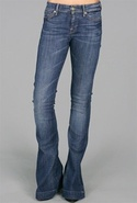 SALE-7 for All Mankind Jiselle Flares - Earheart -