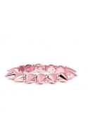 Mercy Spike Bracelet in Rose Gold - Rose Gold