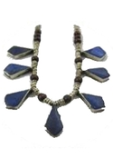 . Gitl Necklace - Blue