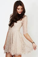 Quartz Dress - Almond - Medium