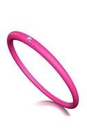 DUEPUNTI Diamond Bangle in Fuchsia - Fuchsia