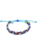 Autism Collection Braided Bracelet - Multi-Colored