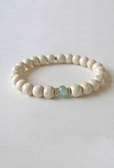 Bijouterie Light Wood Jade Bracelet - Mint