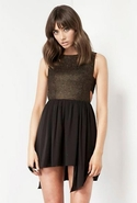 Keepsake Innocent Awakening Dress - Gold/Black - M