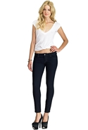 SALE-Siwy Hannah Slim Crop in Rebel Rouser - Rebel