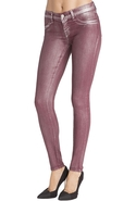 J Brand 901 Legging in Coated Ruby Bullet - Coated