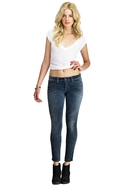 Siwy Hannah Slim Crop in Moon River - Moon River -