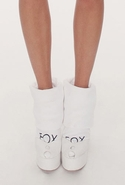Wildfox Sox Crest Fox Sox- White