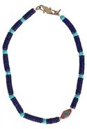 SALE-Vanessa Mooney Vintage African Glass Bead Nec