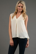 Bond St. Tank in Ivory