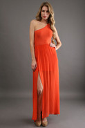 Siwa Dress in Orange