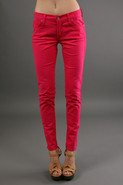 James Twiggy 5 Pocket Legging in Fuchsia