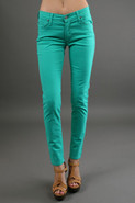James Twiggy 5 Pocket Legging in Peppermint