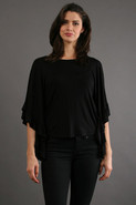 James and Joy by Joy Han Jordan Blouse in Black