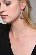 Love Bird Earring in Sterling Silver