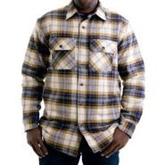 Men Mack Sherpa Lined Flannel Shirt 47420