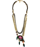 Gold-Plated Aquarela Do Brasil Necklace