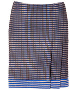 Ultramarine Mixed Knit Skirt