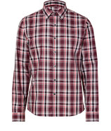 Cardinal Red Check Shirt