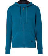 Teal Blue Chester Hoodie