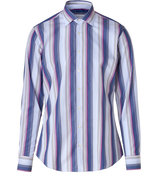 Wisteria-Multi Striped Cotton Shirt