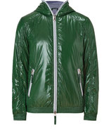 Chlorophyll Green Full Zip Alete Jacket