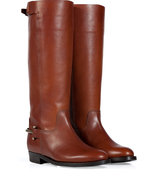 Saddle Tumbled Leather Madelyn Boots