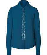 Ultramarine Embellished Blouse