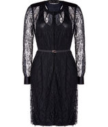 Black Lace Nanaria Dress