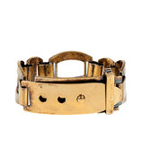 Brass Push-Stud Buckle Bracelet