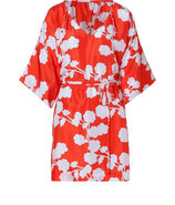 Halo Bud Red Iniko Beach Caftan