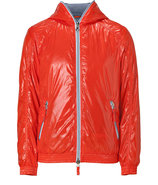 Melograno Orange Full Zip Alete Jacket