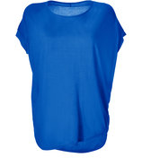 Electric Blue Cozy Jersey Top