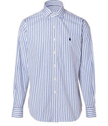 White/Blue Custom Regent Poplin Shirt