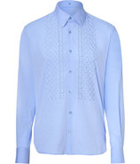 Sky Embroidered Shirt