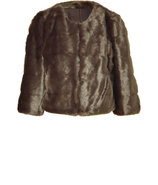 Faux Fur Jacket Women