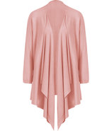 Blush Cozy Silk-Cashmere Cardigan