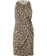 Classic Leopard Printed Dress