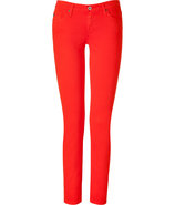 The Stilt Poppy Red Cigarette Jeans