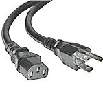 Tripp Lite Power Cord , 18AWG, NEMA 5-15P to C13,