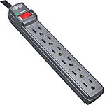 Protect It! Surge Suppressor (6) Outlets, 6ft Cord