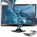 24  V3D245 3D-Ready Full HD LED-LCD Monitor with S