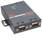 2-Port 10/100 RS232/422/485 Intl. PS External Devi