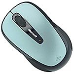 Microsoft 2.4GHz Wireless Mobile Mouse 3500, White