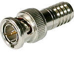 C2G BNC Crimp Connector for RG59U, 10-Pack 40679